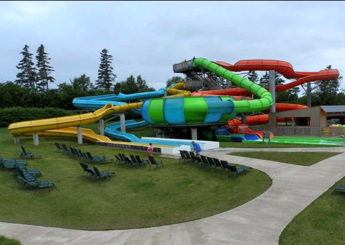 Cavendish Water Slide Attraction