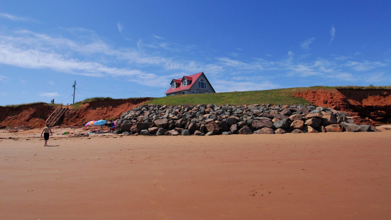 Red Sand at Cavendish Beach